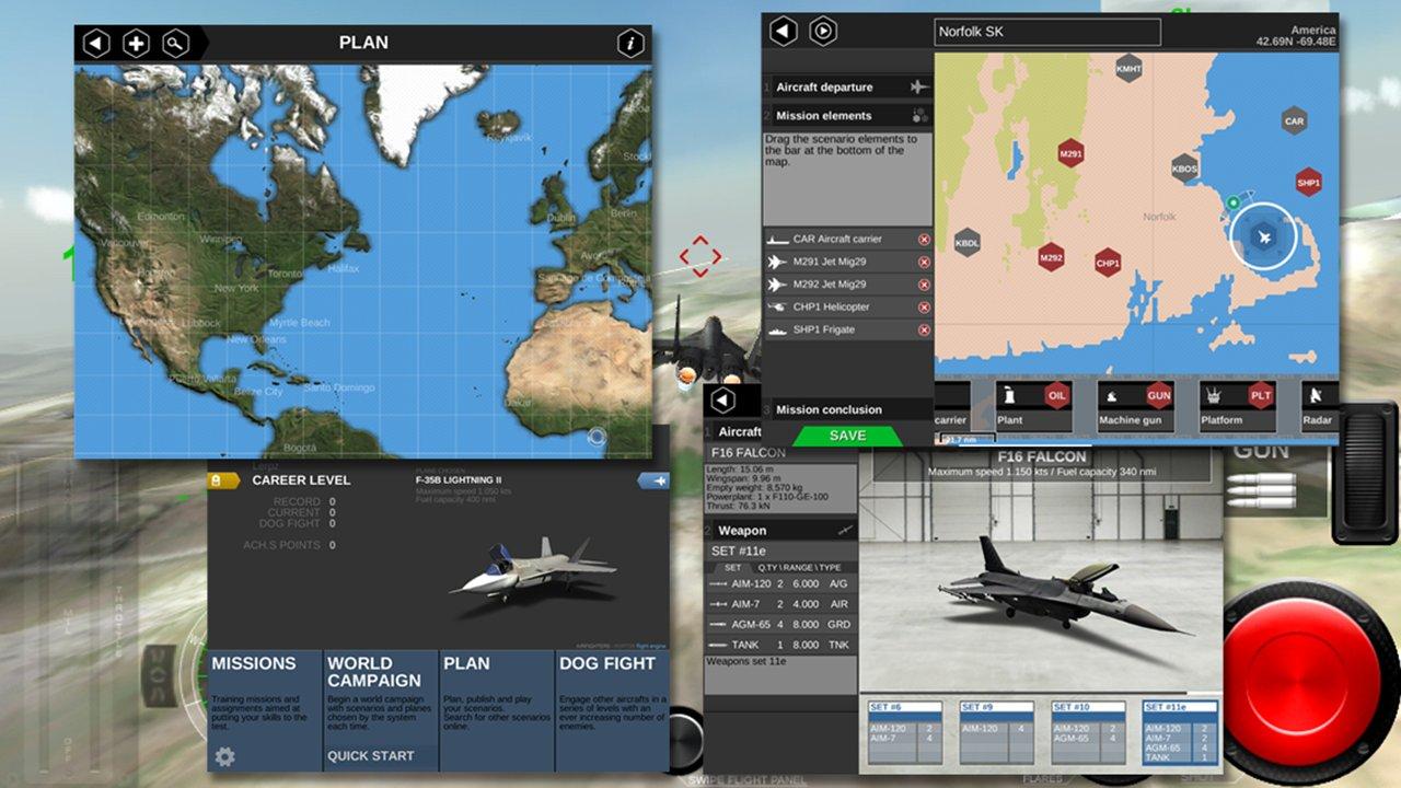 模拟空战最新版手游下载v3.1截图3