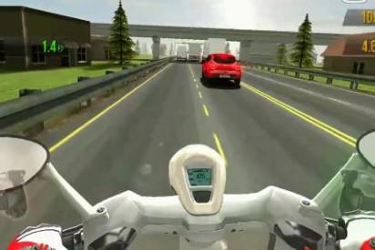 3D摩托车手游