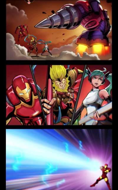 漫画英雄3D福利满v版手游下载截图4