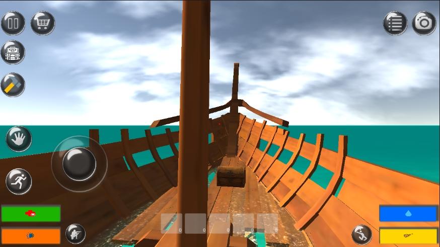 木筏生存记免费安卓版游戏下载v1.0.1截图1