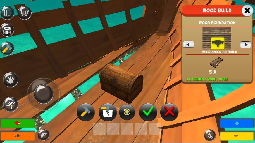 木筏生存记免费安卓版游戏下载v1.0.1截图2