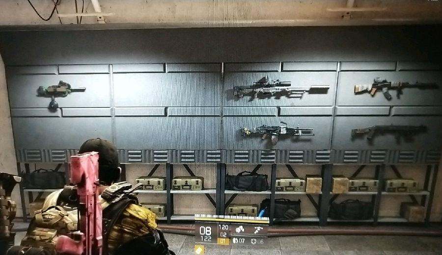 全境封锁2奇特武器有哪些-奇特武器在哪里