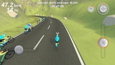 职业自行车竞速模拟安卓版截图0