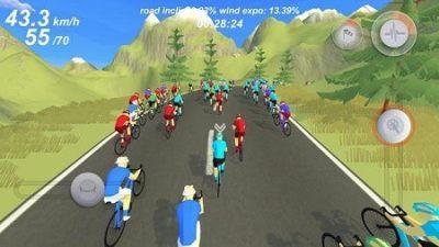 职业自行车竞速模拟安卓版截图1