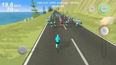 职业自行车竞速模拟安卓版截图2