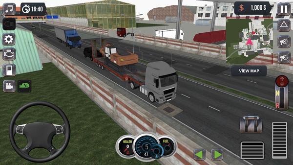 国际卡车运输模拟器官方版v1.0截图1