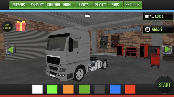 国际卡车运输模拟器官方版v1.0截图2