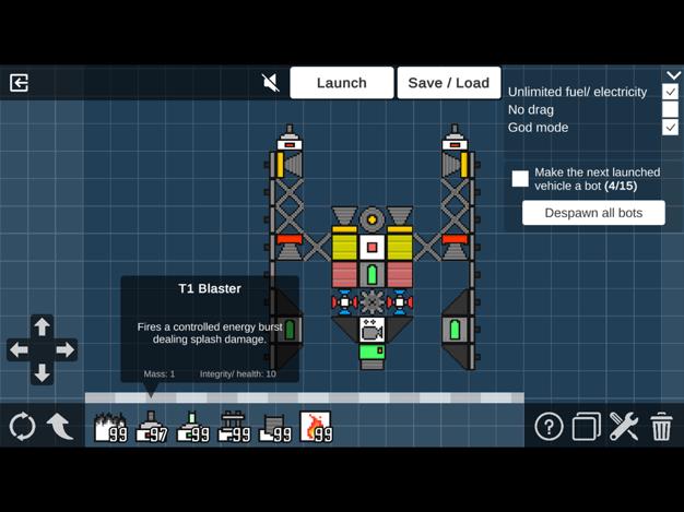太空沙盒游戏手机版v0.42截图0