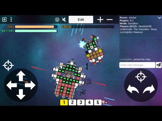 太空沙盒游戏手机版v0.42截图2