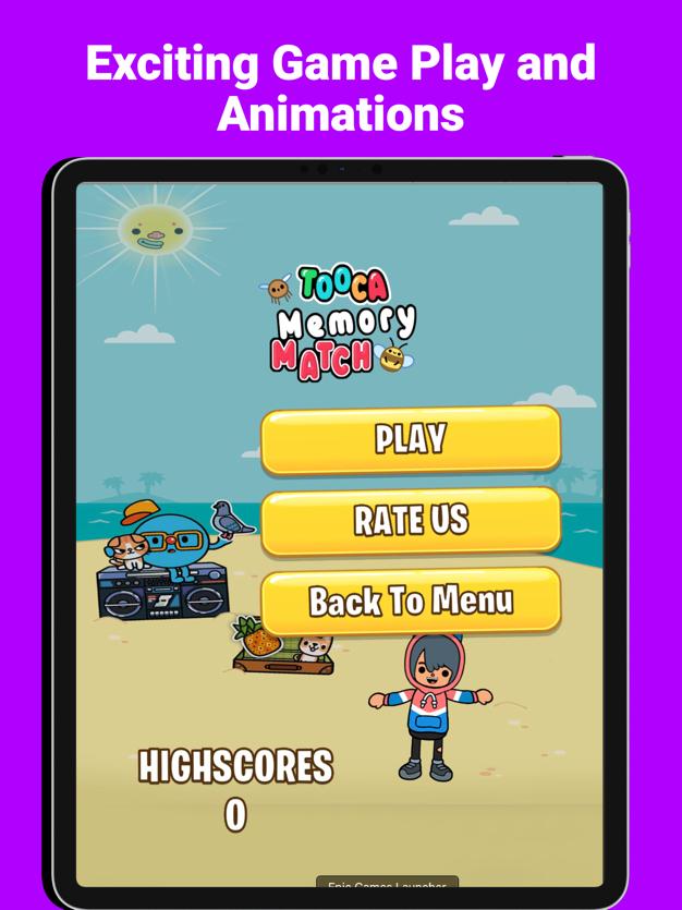 托卡海滩比赛着色游戏v1.1截图4