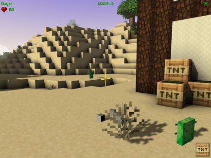 像素块建造工艺游戏IOS最新版v1.0截图1