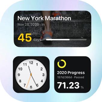 小部件 iOS 14颜色小部件个性化工具v6.Admb.rev